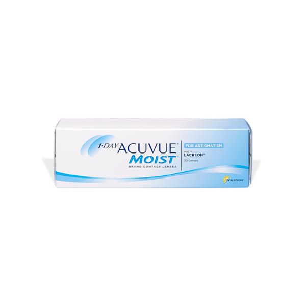 produit lentille 1-Day ACUVUE Moist for Astigmatism (30)