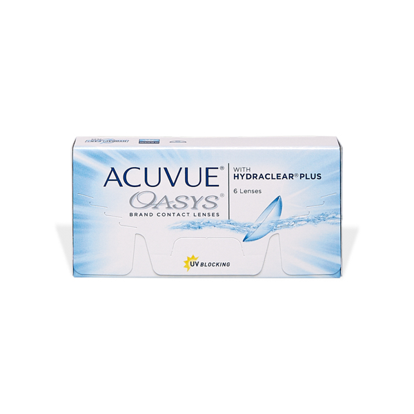 produit lentille Acuvue Oasys with Hydraclear Plus
