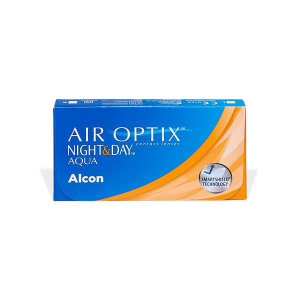produit lentille Air Optix Night & Day Aqua