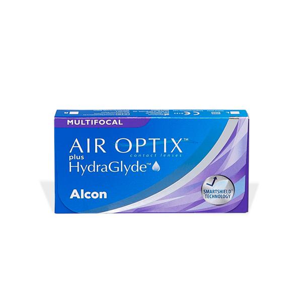 produit lentille Air Optix Plus Hydraglyde Multifocal 6)
