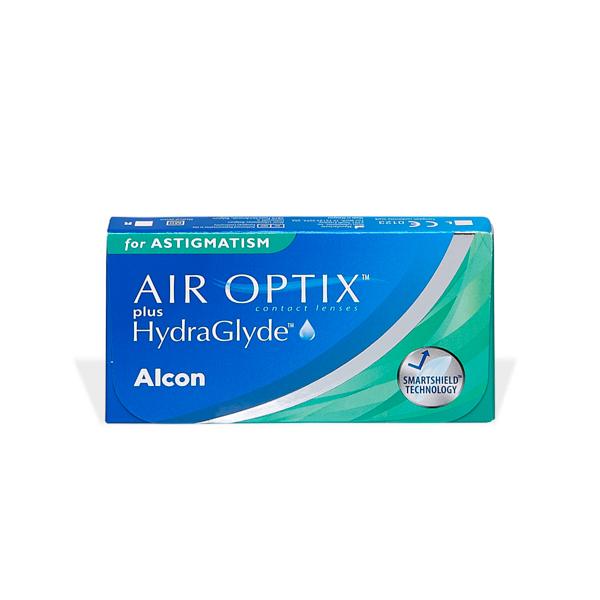 produit lentille Air Optix plus Hydraglyde for Astigmatism