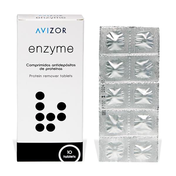 produit lentille Enzyme x10