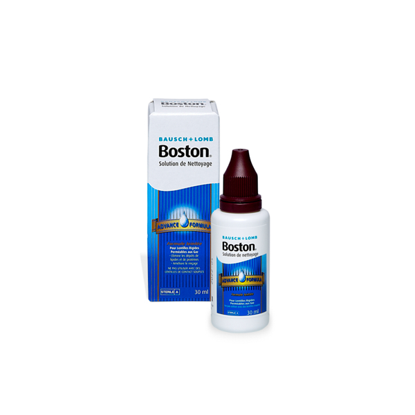 produit lentille Boston Advance Nettoyage 30ml