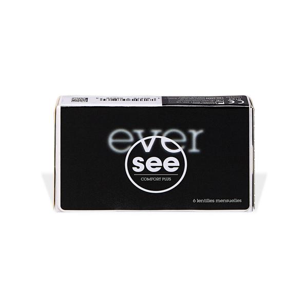 produit lentille Eversee Comfort Plus Silicone Hydrogel (6)