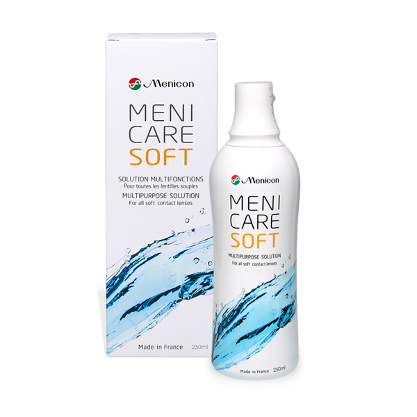 produit lentille Menicare Soft 250ml