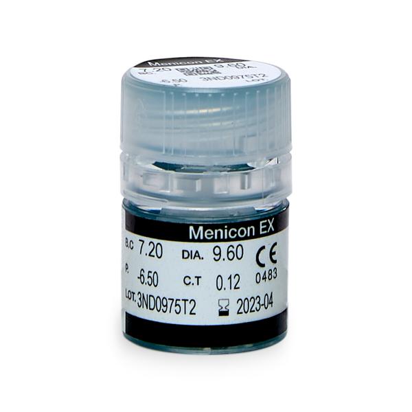 produit lentille Menicon EX