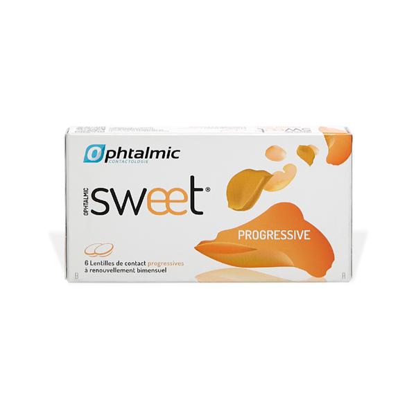 produit lentille Ophtalmic Sweet PROGRESSIVE