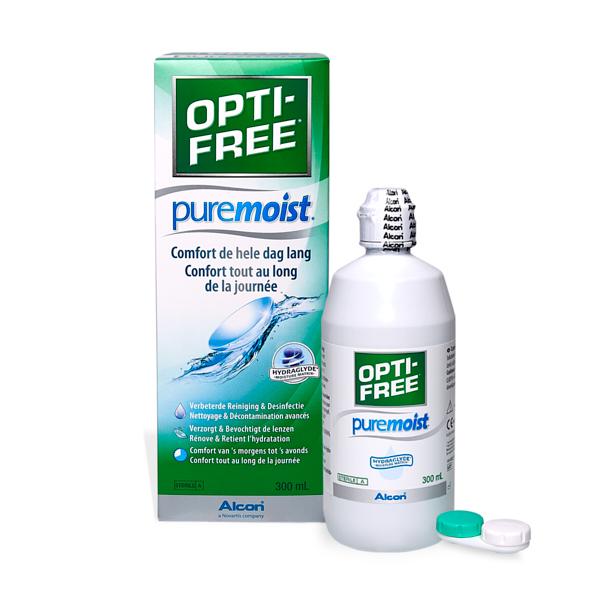 produit lentille Opti-free Pure Moist 300ml