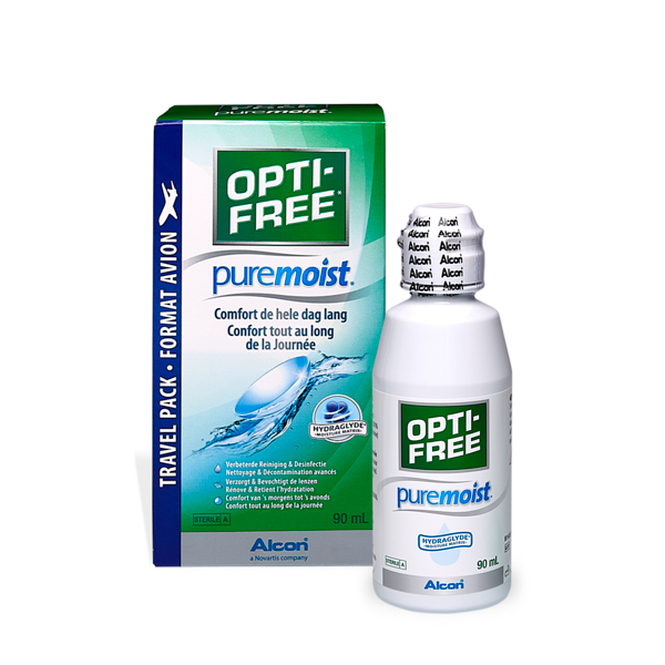 produit lentille Opti-free Pure Moist 90ml