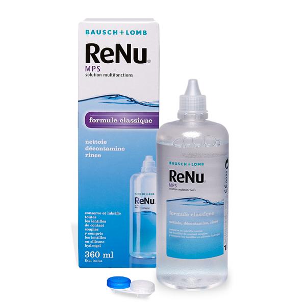 produit lentille ReNu MPS 360ml