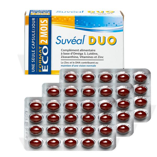 produit lentille Suveal Duo caps x60