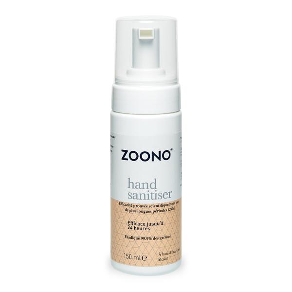 produit lentille Désinfectant pour les mains ZOONO 150ml