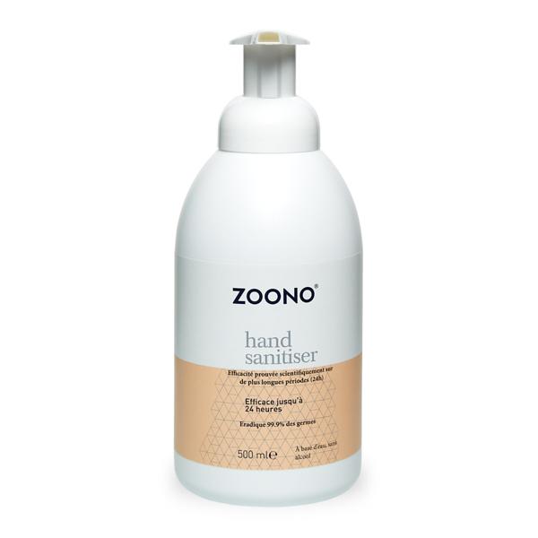 produit lentille Désinfectant pour les mains ZOONO 500ml