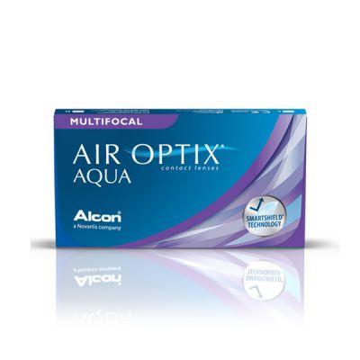 produit lentille Air Optix Aqua Multifocal 3