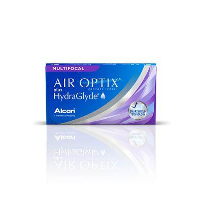 produit lentille Air Optix plus Hydraglyde multifocal 3