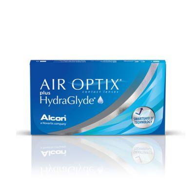 produit lentille Air Optix Plus Hydraglyde