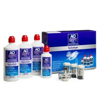 produit lentille Aosept Plus Hydraglyde 3x360ml + 90ml