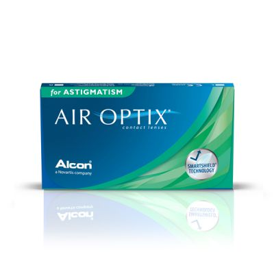 produit lentille Air Optix for Astigmatism