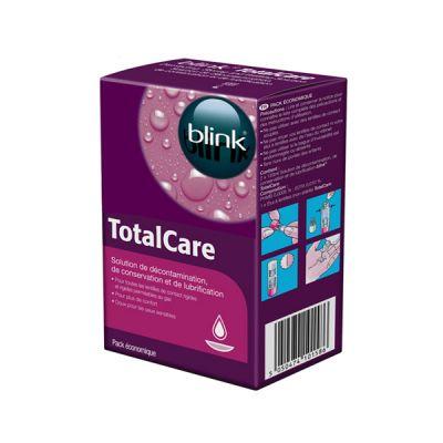 produit lentille Total Care Decontamination 2x120ml