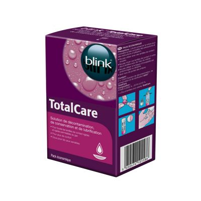 produit lentille Total Care Décontamination 2x120mL