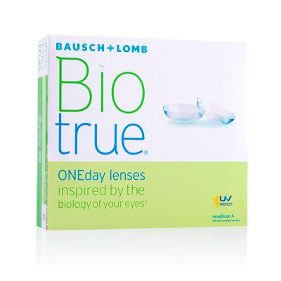 produit lentille Biotrue One Day 90
