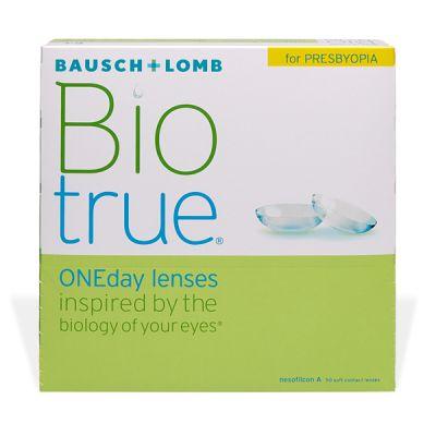 produit lentille Biotrue One Day For Presbyopia 90