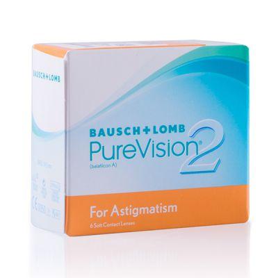 produit lentille PureVision 2 HD pour Astigmates