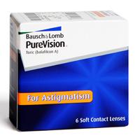 produit lentille PureVision Torique