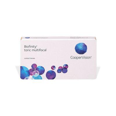 produit lentille Biofinity Multifocal Toric