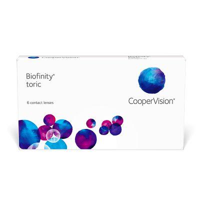 produit lentille Biofinity Toric 6