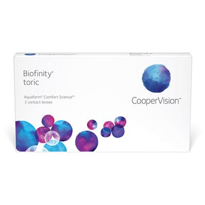produit lentille Biofinity Toric 3
