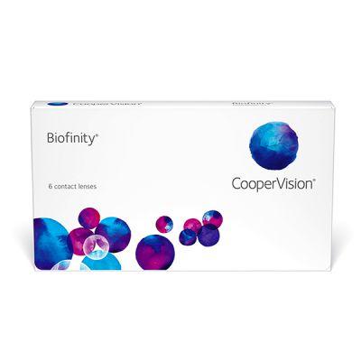 produit lentille Biofinity