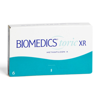 produit lentille Biomedics Toric XR