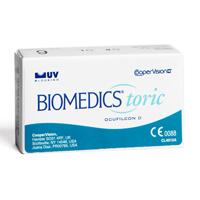 produit lentille Biomedics Toric