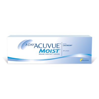 produit lentille 1-Day Acuvue Moist 30