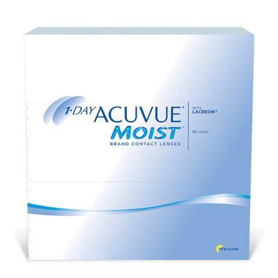 produit lentille 1-Day Acuvue Moist 90