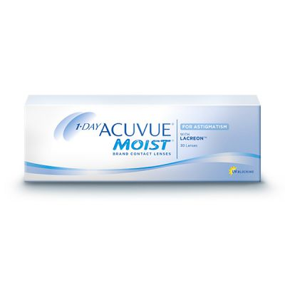 produit lentille 1 Day Acuvue Moist for Astigmatism 30