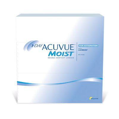 produit lentille 1 Day Acuvue Moist for Astigmatism 90