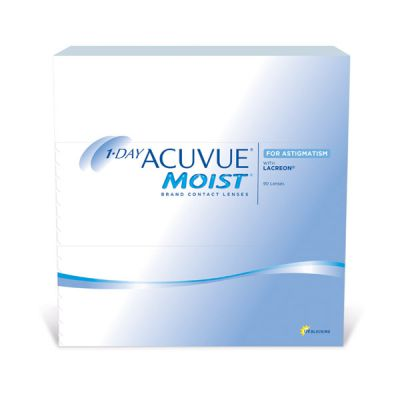 produit lentille 1 Day Acuvue Moist for Astigmatism 90