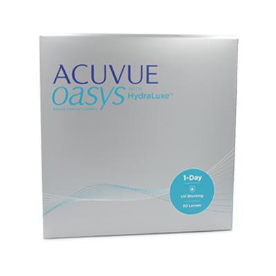 produit lentille Acuvue Oasys 1 day 90