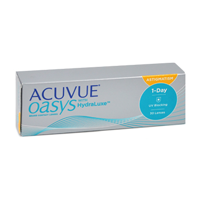 produit lentille Acuvue Oasys 1 Day For Astigmatism 30