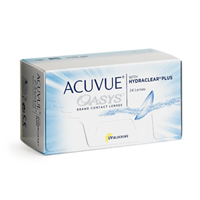 produit lentille Acuvue Oasys 12 with Hydraclear Plus