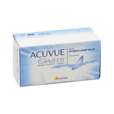 produit lentille Acuvue Oasys 24 with Hydraclear Plus