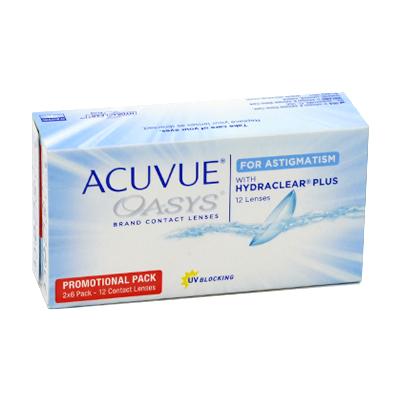 produit lentille Acuvue Oasys For Astigmatism 12