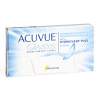 produit lentille Acuvue Oasys For Astigmatism
