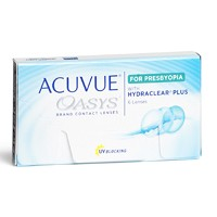 produit lentille Acuvue Oasys for Presbyopia with Hydraclear Plus