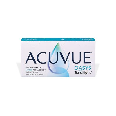 produit lentille Acuvue Oasys with Transitions
