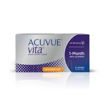 produit lentille Acuvue VITA ™ for Astigmatism