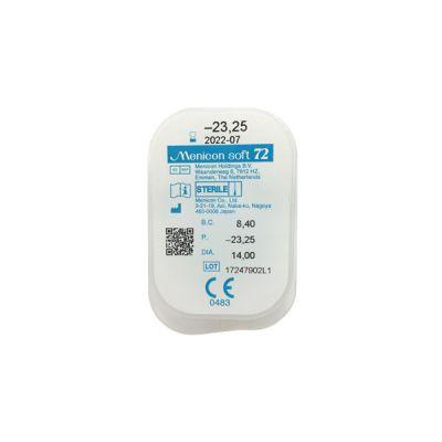 produit lentille Menicon soft 72