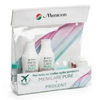 produit lentille Travel Kit Menicare Pure & Progent